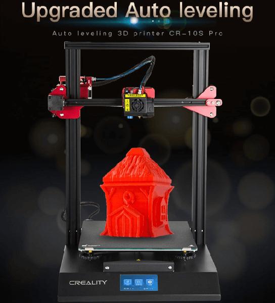 3d Printer Creality Cr 10s Pro 300x300x400mm Azdkcr10pro Azurefilm D O O
