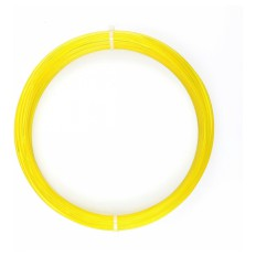Product picture: PLA Yellow Transparent -​ Sample 50g / 17m / 1.75mm