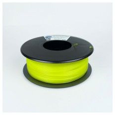 Product picture: Flexible Filament Hardness 98A Neon Yellow 1.75mm