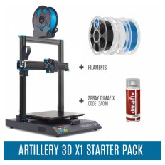 Product picture: Artillery Sidewinder X1 V4 STARTER PACK