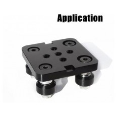 Product picture: Mini V Gantry Rod Plate with Wheel
