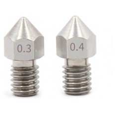 Product picture: Nozzle 0,4mm MK8 STEEL 1,75mm  thread length 7mm