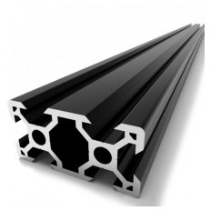 Product picture: Profile 20x40 black 500 / 1000mm